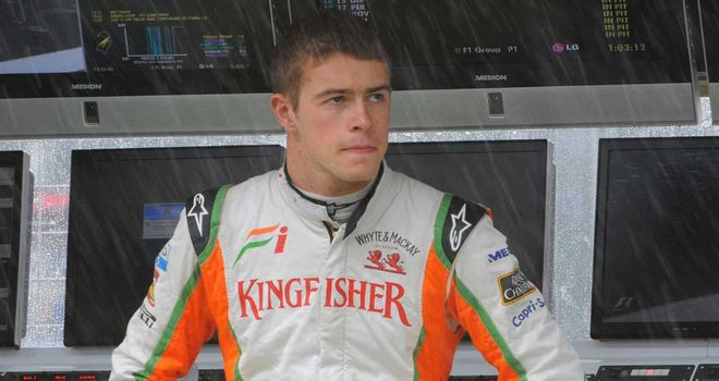 Paul di Resta: looking forward to rivalry with teammate