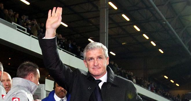 Hughes: Now faces former employers Chelsea