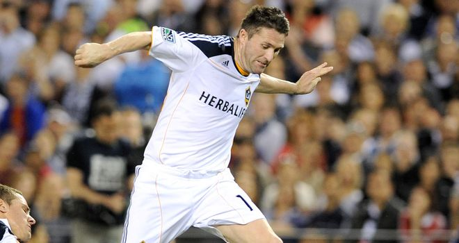 Robbie Keane: Has played down reports suggesting he is looking for a route back to Britain