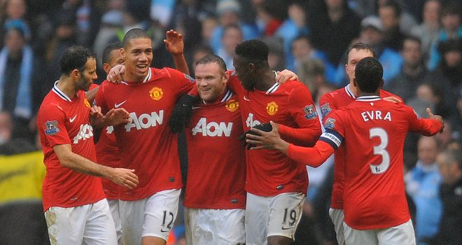 Manchester United's reward for beating City is a tie against Liverpool in round four