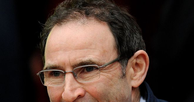 O'Neill: tough test for his troops