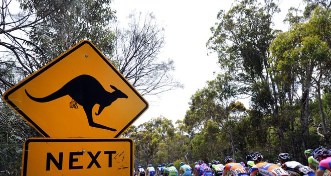 There's no mistaking a race in Australia