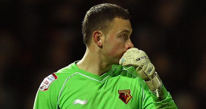 Scott Loach: Watford goalkeeper is also a target for Blackburn after Ipswich agreed a deal