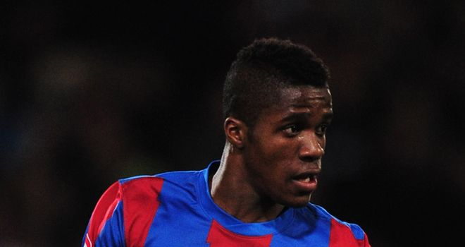 Wilfried Zaha: Crystal Palace winger has been linked with the likes of Liverpool and Manchester United