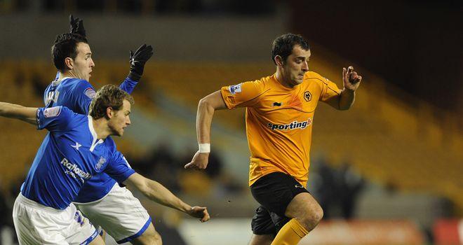 Nenad Milijas: The midfielder scored nine goals in 72 appearances for Wolves