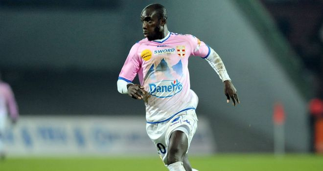 Yannick Sagbo: Evian striker wants to impress Marseille