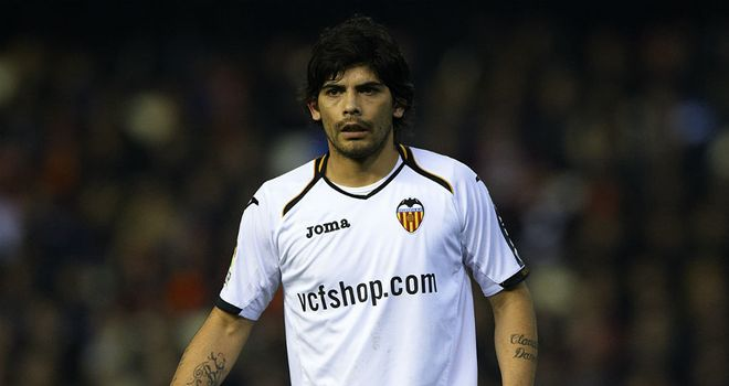 Ever Banega: Has signed a two-year contract extension with Valencia