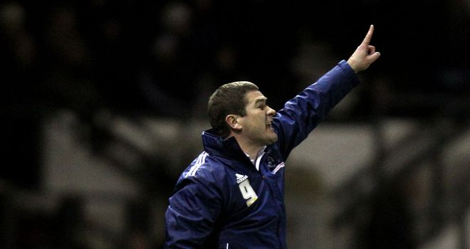 Nigel Clough: Derby boss saw his side come from 2-0 down to take a point at Birmingham