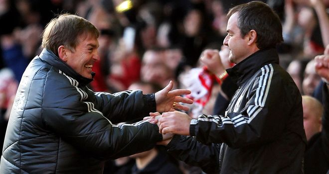 Kenny Dalglish: Was delighted with the effort put in by Liverpool in the win over Manchester United