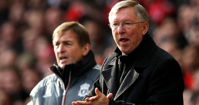 Ferguson: set to get one over on Dalgish, says Merson
