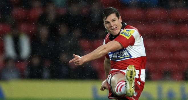 Freddie Burns: sealed draw for Gloucester three minutes from time