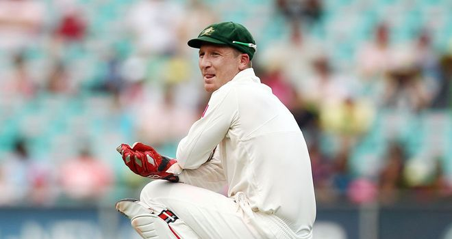 Brad Haddin: Named as Michael Clarke's right-hand man for Ashes