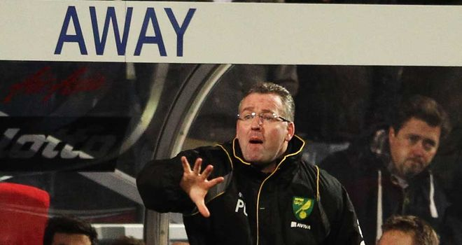Paul Lambert: Norwich boss will not trade league position for cup glory