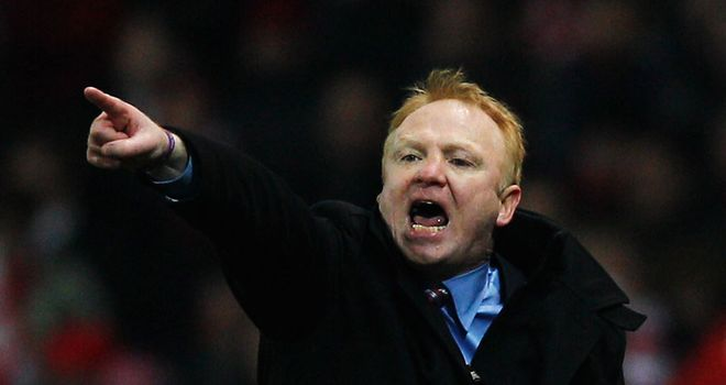 Alex McLeish: Admits he is affected by the supporters booing him and has urged them to get behind the team