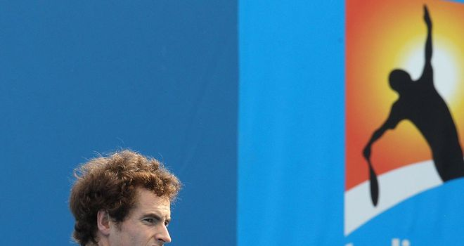 Murray: Scheduled to meet Tsonga in quarter-finals