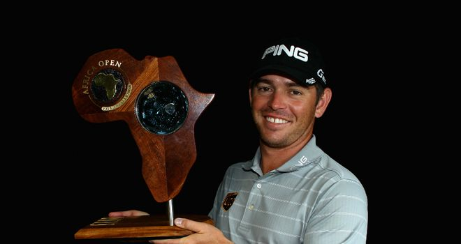 Louis Oosthuizen: birdie at 17th helped clinch Africa Open victory