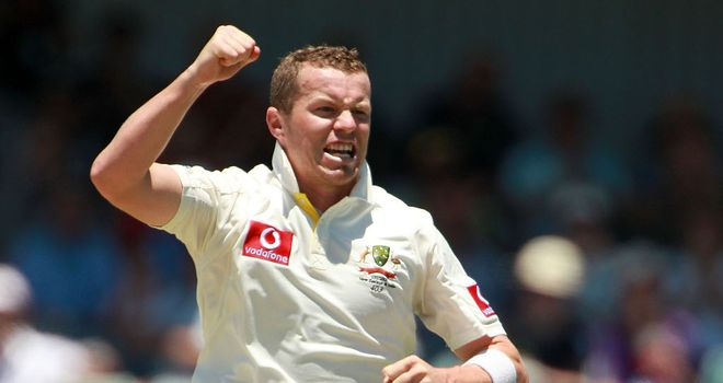 Peter Siddle: Australia seamer keen on a ninth consecutive Test appearance