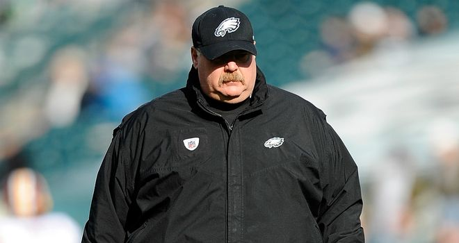 Andy Reid: has decided to promote secondary coach Todd Bowles to take charge of the defense