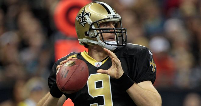 Drew Brees: completed 468 passes for an NFL record 5,476 yards last season