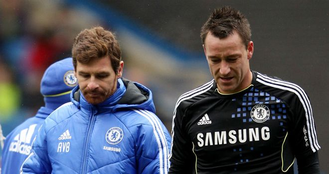 Andre Villas-Boas and John Terry: Chelsea captain admits he was sad to see manager axed