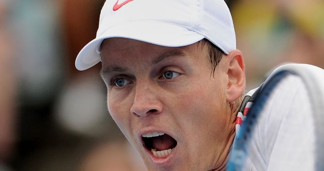 Tomas Berdych: Given a stern test