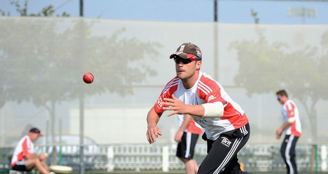 Jonathan Trott: Hopeful that England will hit back in the second Test in Abu Dhabi