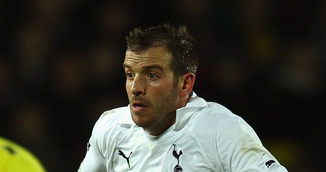 Rafael van der Vaart: Desperate to end Spurs' season on a high
