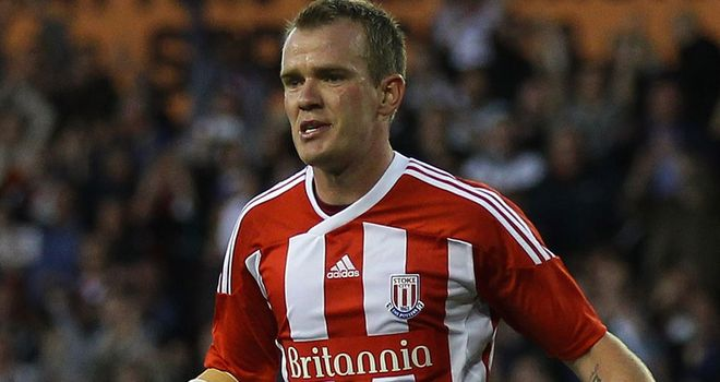 Glenn Whelan: Linked with a move to Wolves from Stoke