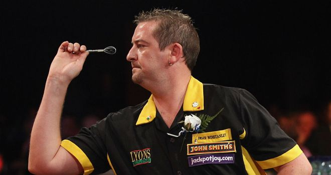 Dean Winstanley: Came back from 5-0 down to beat Gary Anderson