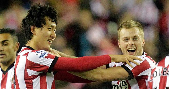 Ji Dong-Won: Has not played for goal-shy Sunderland this season