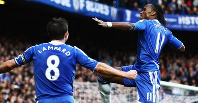 Lampard and Drogba: Still top men for Blues