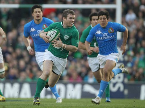 Gordon D'Arcy: On the charge