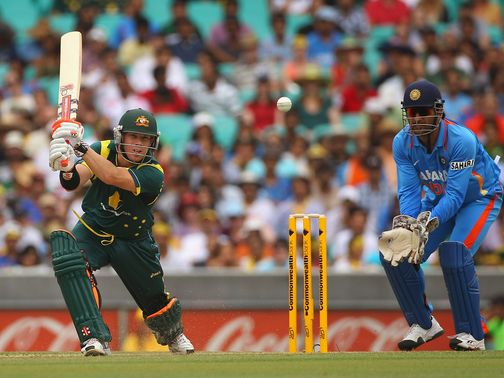 David Warner top-scored for Australia with 68