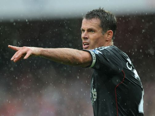 Jamie Carragher: Prepares for FA Cup final