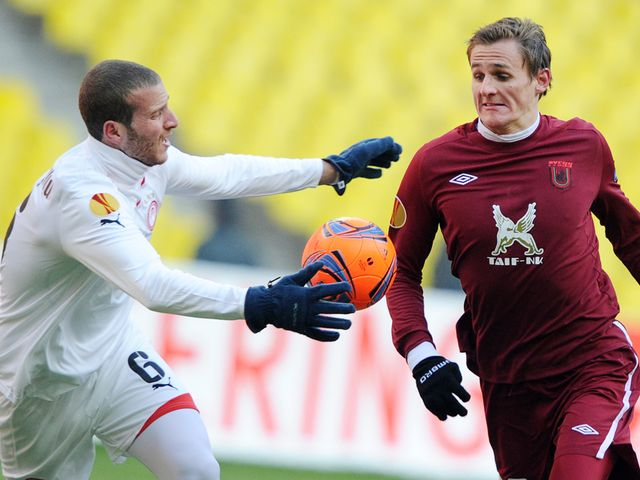 Vladimir Dyadyun (r): Netted the only goal
