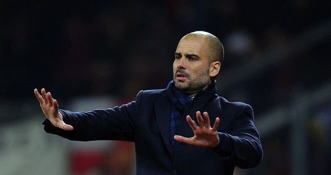 Pep Guardiola: The Barcelona boss has played down talk of him moving to Chelsea