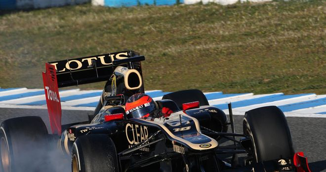 A lock-up was a minor detail during a solid week for Lotus