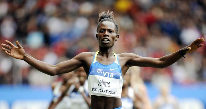 Pamela Jelimo: heads to the World Indoor Championships