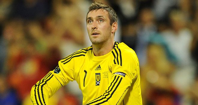 Allan McGregor: 'Honoured' to be part of Scotland's squad
