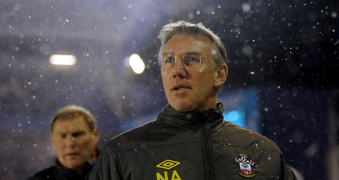 Nigel Adkins: Questioned Danny Fox's sending off during Southampton's draw at Birmingham