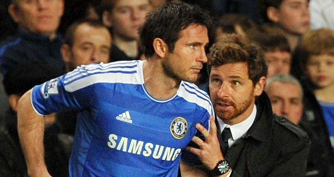 Disrespectful: Alex has criticised Villas-Boas' treatment of Lampard