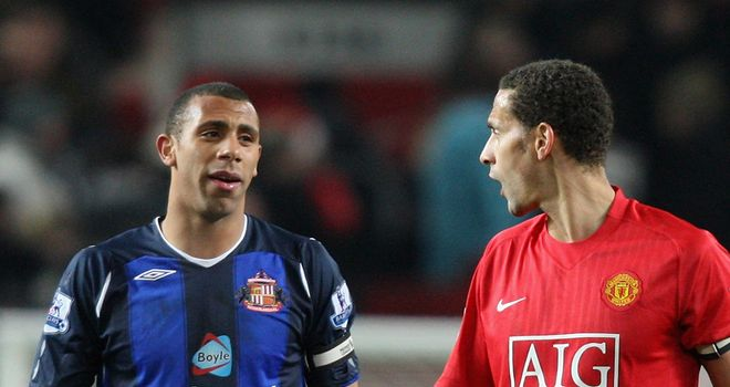 Favour: Rio Ferdinand has urged brother Anton to beat City with QPR