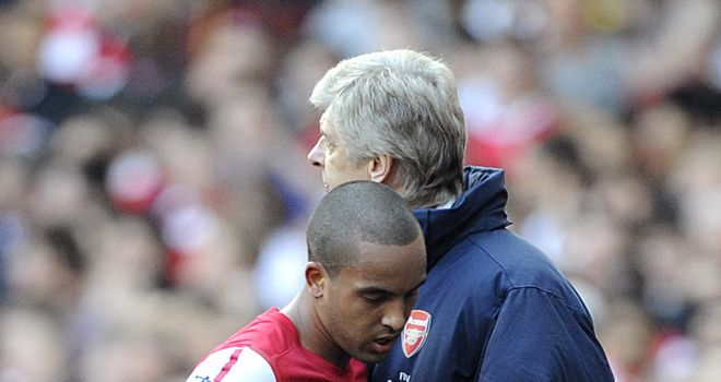 Arsene Wenger: Worried about Theo Walcott's contract situation at Arsenal