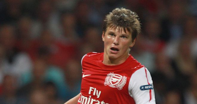 Andrey Arshavin has been handed the number 29 at new club Zenit