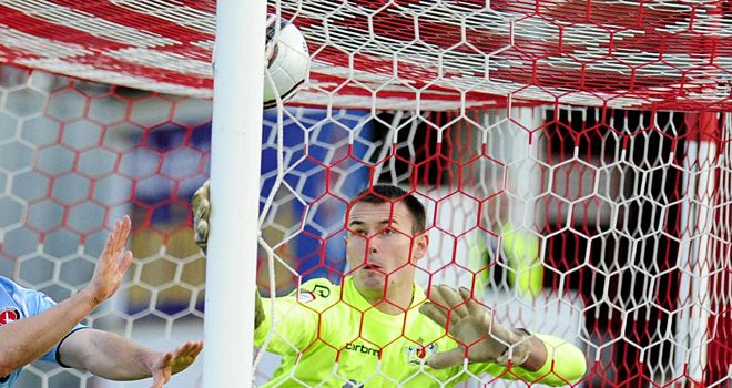 Krysiak: At fault for the winning goal