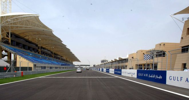 Bahrain International Circuit: Continuing with preparations for grand prix