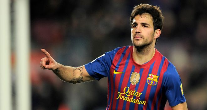 Cesc Fabregas: Believes it will take time to succeed at Barcelona