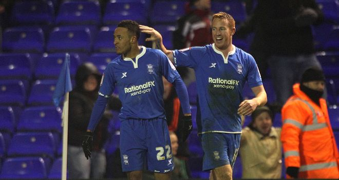 Nathan Redmond: On target in Birmingham's win over Derby