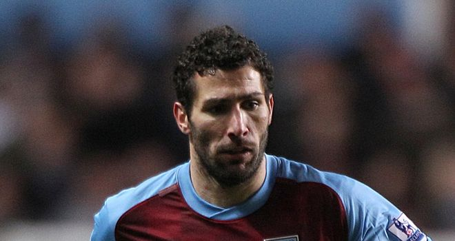 Carlos Cuellar: Thanked the fans for their support after Villa's draw with Tottenham