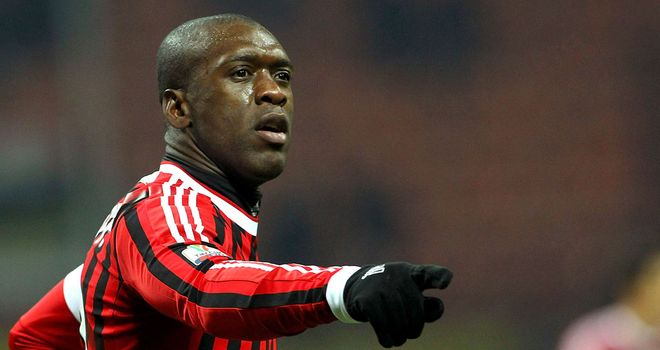 Clarence Seedorf: Has joined Brazilian side Botafogo after leaving AC Milan